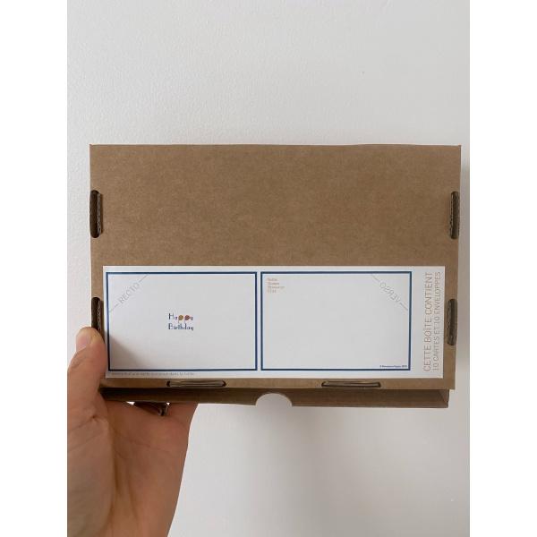 Pierrette en Papier - Boite de 10 cartes de mots doux