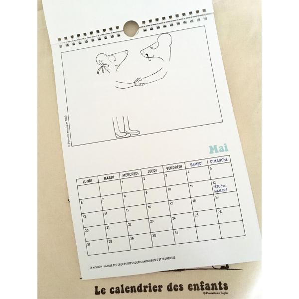 Pierrette en Papier - Calendrier des enfants 2019