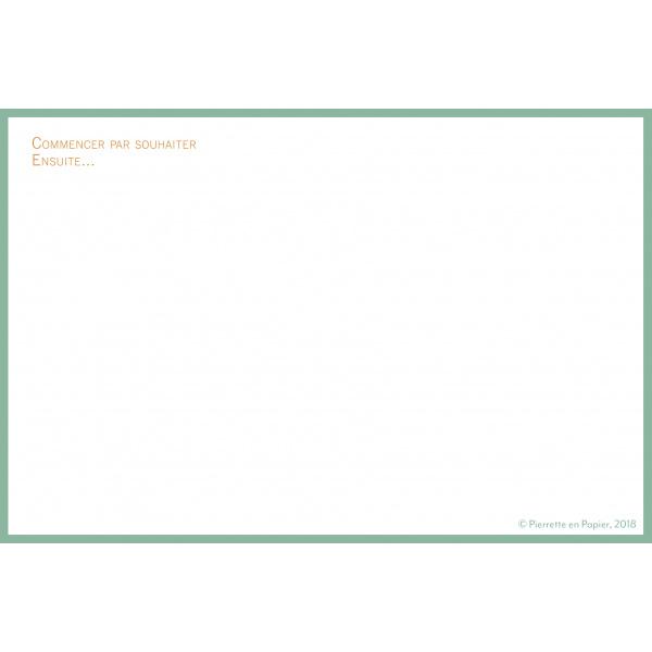 Pierrette en Papier - Carte Agréable Journée