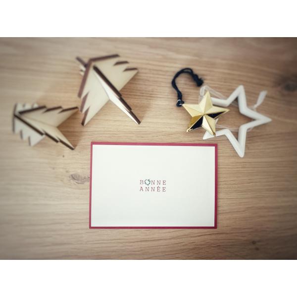 Pierrette en Papier - Carte Bonne année