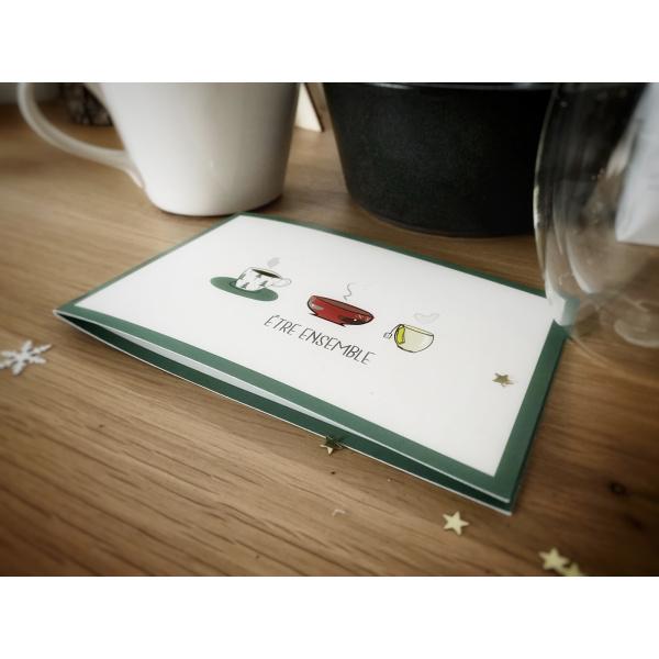 Pierrette en Papier - Carte Être ensemble - à partager