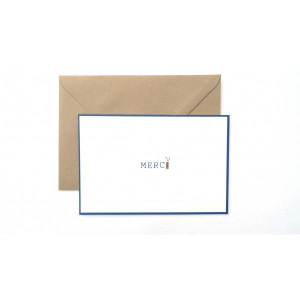 Pierrette en Papier - Carte Merci