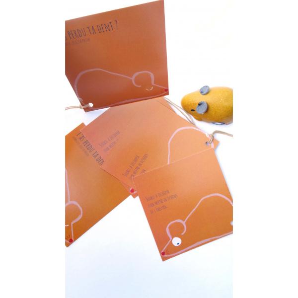 Pierrette en Papier - Carte Petite souris à découper