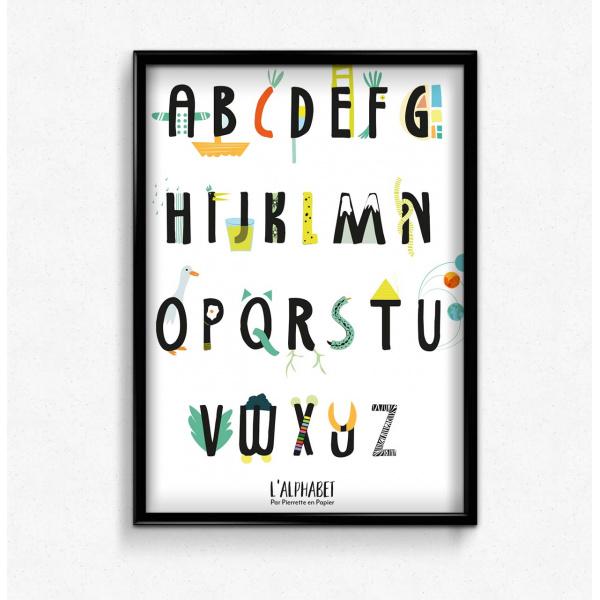 Pierrette en Papier - L'alphabet