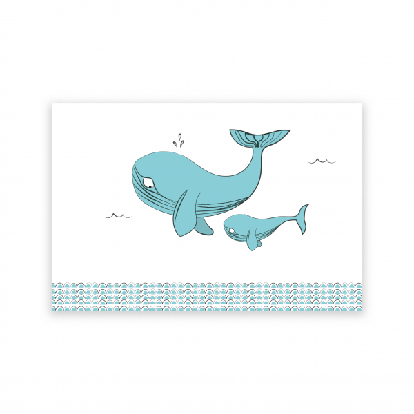 Pierrette en Papier - La Baleine 1