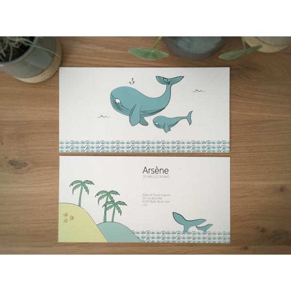 Pierrette en Papier - La Baleine 2