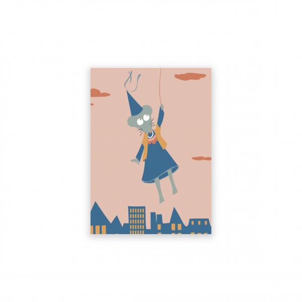 Pierrette en Papier - La Petite souris et sa dent
