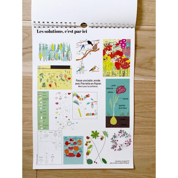 Pierrette en Papier - Le Calendrier des enfants 2020