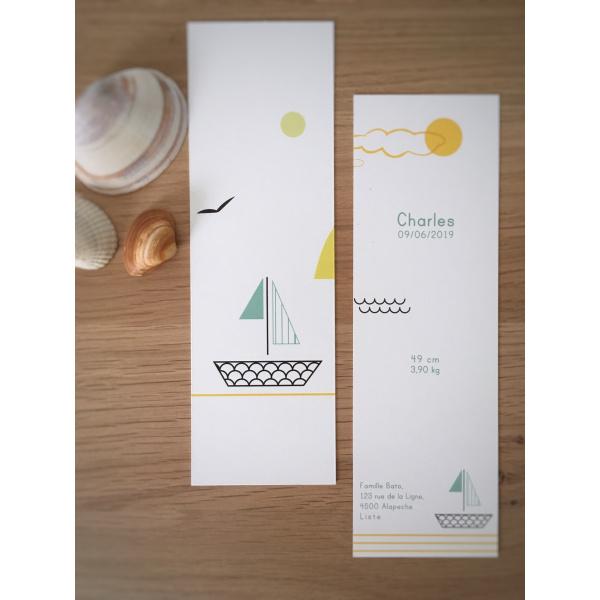 Pierrette en Papier - Le Petit Bateau 1