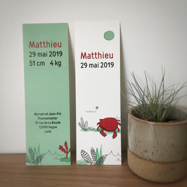 Pierrette en Papier - Le Petit Crabe rouge 1