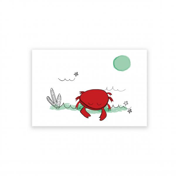 Pierrette en Papier - Le Petit Crabe rouge 2