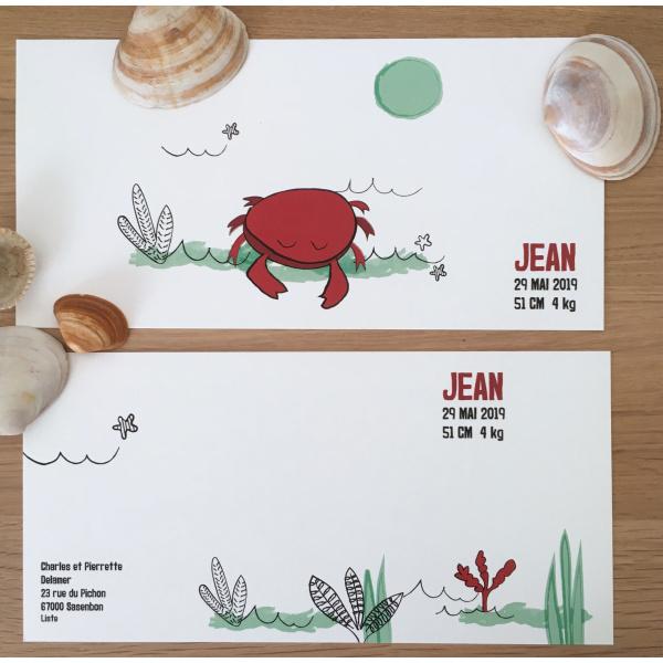 Pierrette en Papier - Le Petit Crabe rouge 3
