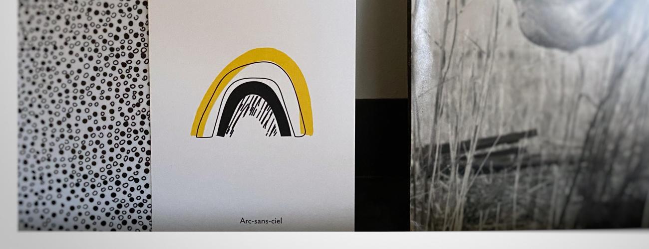 Pierrette en Papier | carte arc en ciel