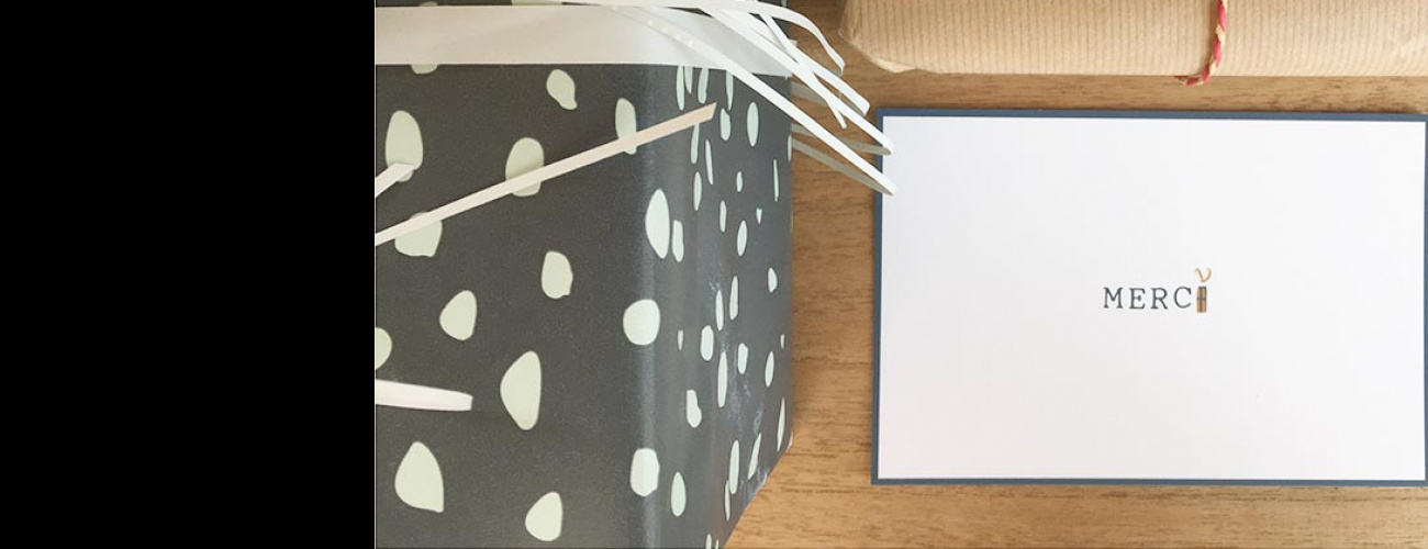 Pierrette en Papier | carte Merci